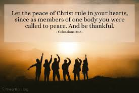 Colossians 3 peace