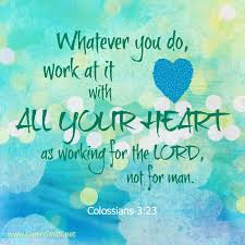 Colossians 3 work hard