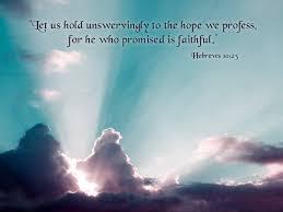 Hebrews 10 faith