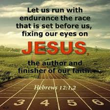 Hebrews 12 fix our eyes