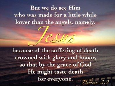 Hebrews 2 Jesus