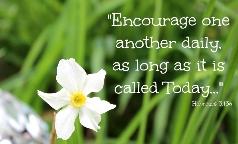 Hebrews 3 encourage