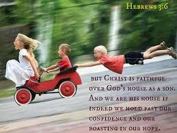 Hebrews 3 hang on