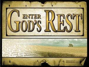 Hebrews 4 Gods rest