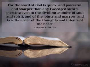 Hebrews 4 Gods word