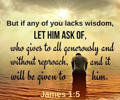 James 1 ask for