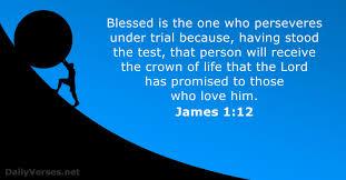 James 1 perservere