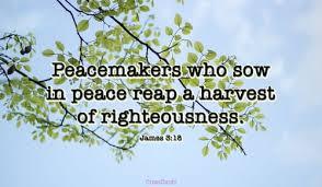 James 3 peace