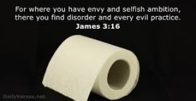 James 3 selfish