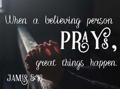 James 5 pray