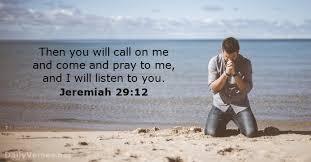 Jeremiah 29 pray