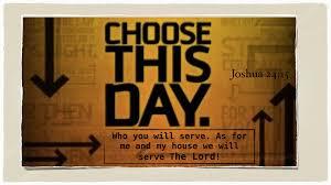 John 18 choose this day