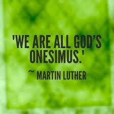 Philemon we are