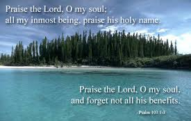 Praise 103 praise him