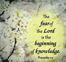Proverbs 1 fear