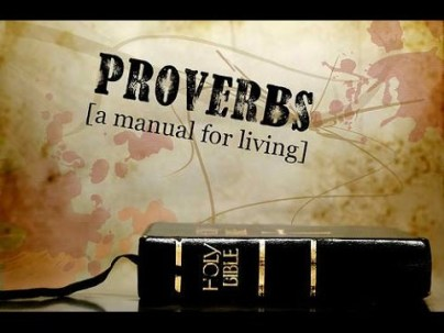 Proverbs 1 manual