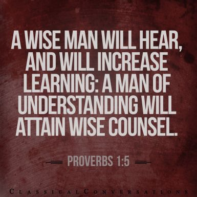Proverbs 1 wise man