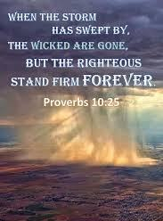 Proverbs 10 stand firm