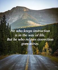 Proverbs 10 the road