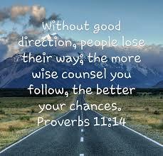 Proverbs 11 14