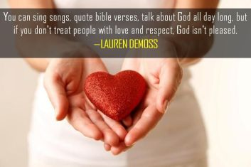 Proverbs 11 treat people well