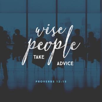 Proverbs 12 15