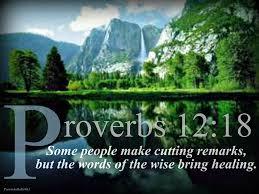 Proverbs 12 18