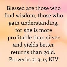 Proverbs 3 find wisdom