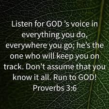 Proverbs 3 listen