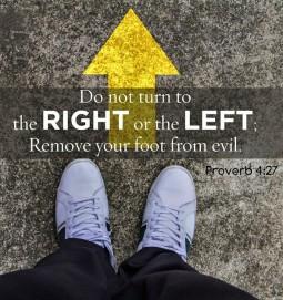 Proverbs 4 27