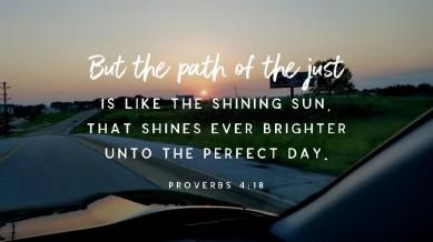 Proverbs 4 path