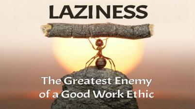 Proverbs 6 lazy