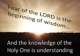 Proverbs 8 fear of the Lord