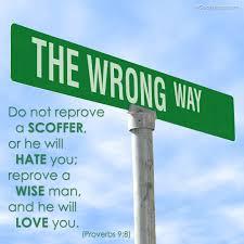 Proverbs 8, wrong