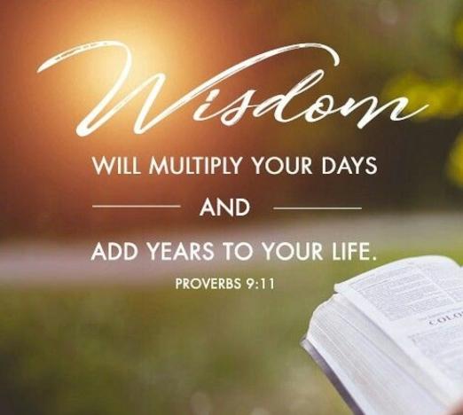 Proverbs 9 11