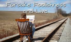 Proverbs 9 foolish
