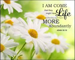 Proverbs 9 life abundant