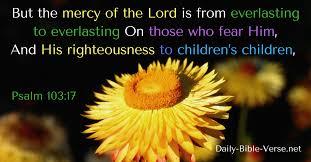 Psalm 103 children