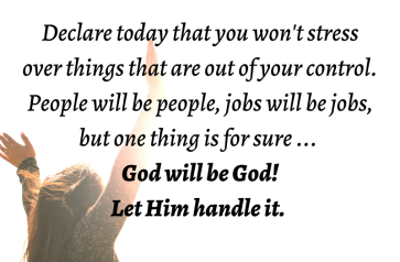 Psalm 121 God will be God