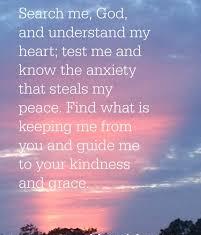 Psalm 139 final prayer