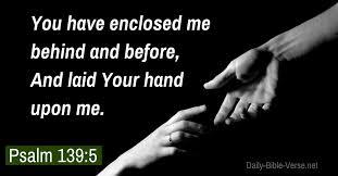 Psalm 139 hand