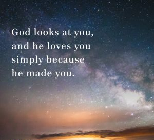 Purpose God loves you
