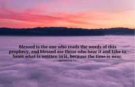 Revelation 1 blessed are