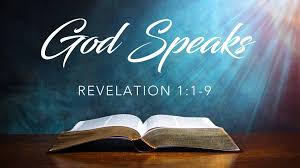 Revelation 1 God speaks