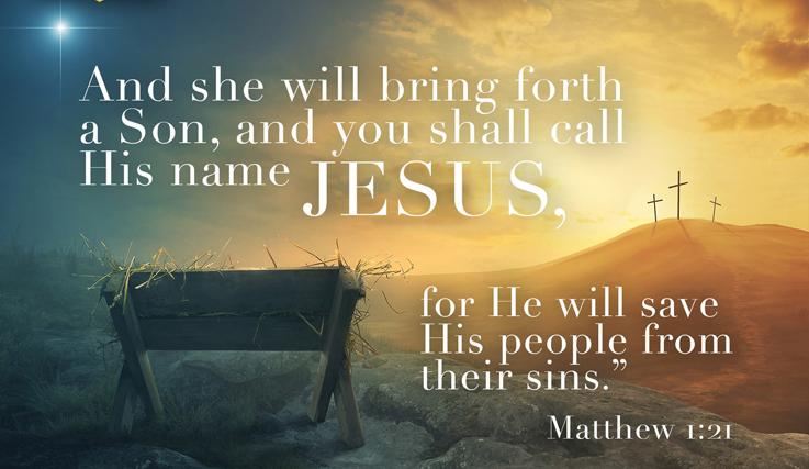 Matthew 1, Jesus