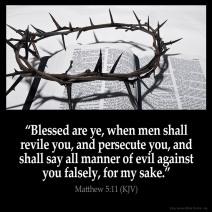Matthew 5 11