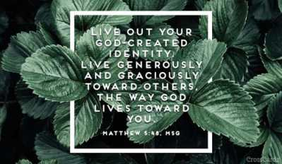 Matthew 5 44