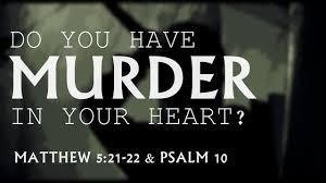 Matthew 5 have murder