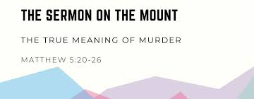 Matthew 5 murder