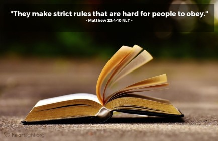Matthew 5 strict hard to obey
